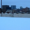 Wichita Skyline During The Winter Snow