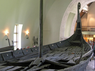 Viking Ship Museum And The Oseberg Ship