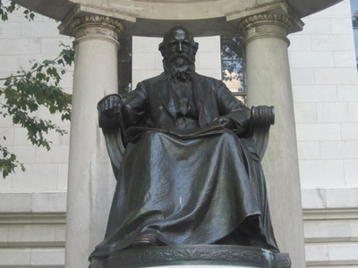Statue Of William Cullen Bryant