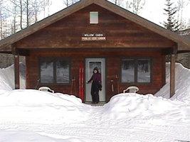 Willow Cabin Winter Uso Público