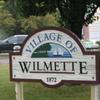 Wilmette Sign