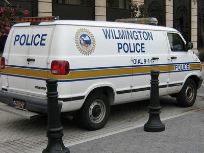 Delaware Police Van