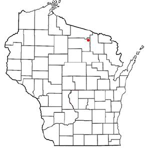 W I Map  Doton   Three  Lakes