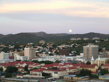 Windhoek - Overlooking Red Roofs