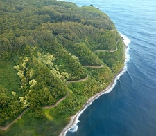 Winding Road To Hana