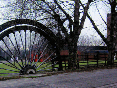 Winding Wheel From Yorkshire Main Colliery