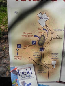 Window On The Wetlands Tourist Map