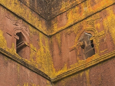 Windows @ Bet Giorgis In Lalibela - Ethiopia