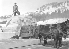 Wind River Historical Center Exhibit - Yellowstone - Wyoming - U