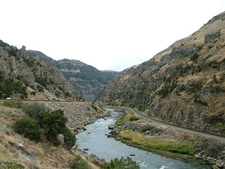Wind River Canyon View