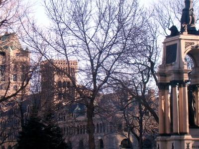Place Du Canada From René Lévesque Boulevard
