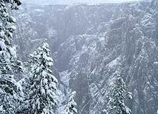 Winter From The Oak Flat Loop Trail.