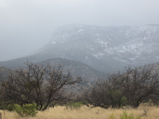 Snow Capped Mountains Ooutside Sierra Vista
