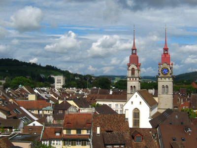 Winterthur   View Of The Old Town