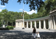 Shelter Pavilion In Late Summer