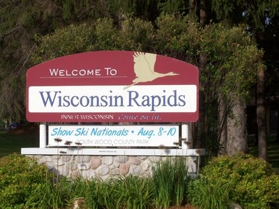Wisconsin Rapids Sign