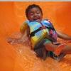 WnWEP Greensboro NC - Kid Orange Slide