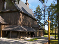 Wooden church in Tymowa