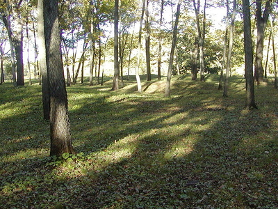 Woodland Conical Mounds At Effigy Mounds National Monument