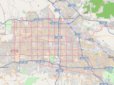 Woodland Hills Is Located In San Fernando Valley