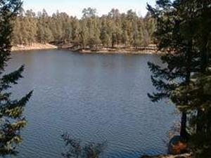 Madeiras Canyon Lake
