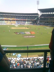 World Cup Match At Jamtha