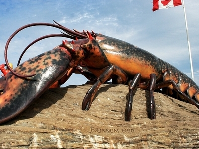 The World's Largest Lobster