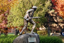 "World War I ""Doughboy"" Monument In Riverfront Park - Harrisburg PA"