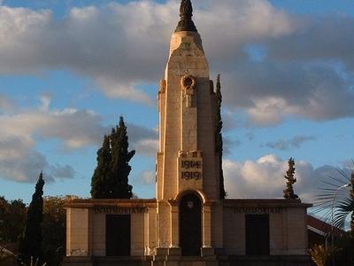 World War I Memorial In Kimberley