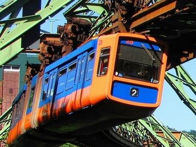 Wuppertal Schwebebahn In 2010