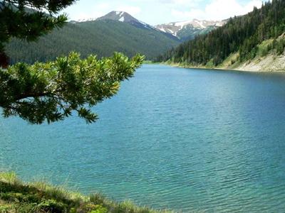 Middle Piney Lake Wyoming Range