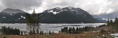 Wahleach Lake Panorama