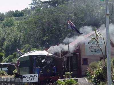 Waikino  Steam  Train  Station