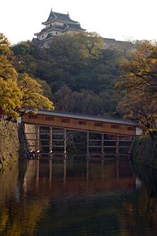 Roukabashi Bridge And Tenshu
