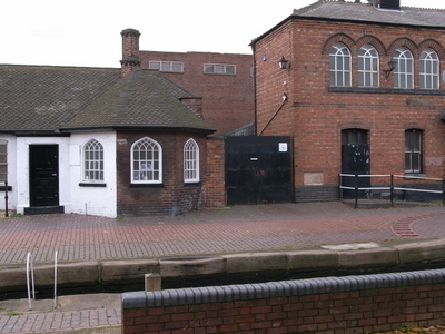 Walsall  Locks Toll Office And  Boaters  Mission