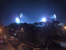 Wankhede Stadium At Night
