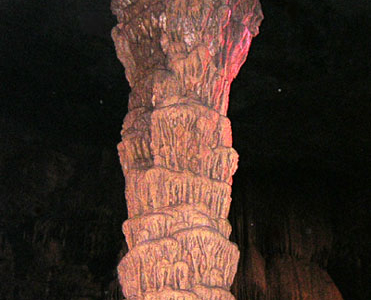 War Club Stalagmite Formation