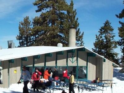 Warming Hut At Mount Waterman