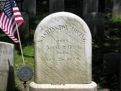Washington  Irving  Gravesite