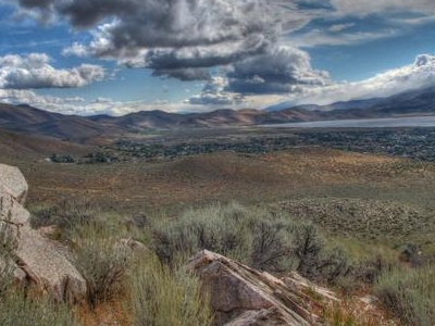 Washoe  Lake And  Storm