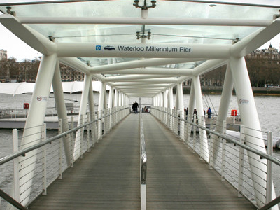 Entrance To London Eye Pier
