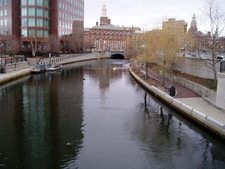 Waterplace Park In Downcity Providence