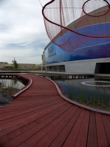 Water Sky Garden At Richmond Olympic Oval