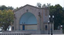 W.D. Petersen Memorial Music Pavilion In Park