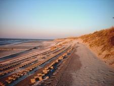 Fortified Coast Line On Wangerooge