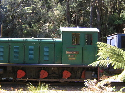 West  Coast  Wilderness  Railway Diesel Locomotive