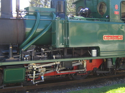 West  Coast Wilderness Railway Steam Locomotive
