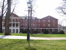 West From Front Quadrangle