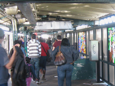Northbound Platform