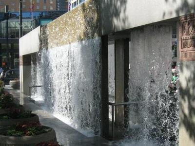 Westlake  Center Water Monument